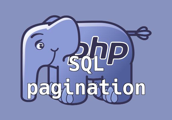 SQL lapozás
