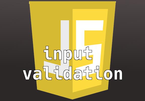 Input validálás