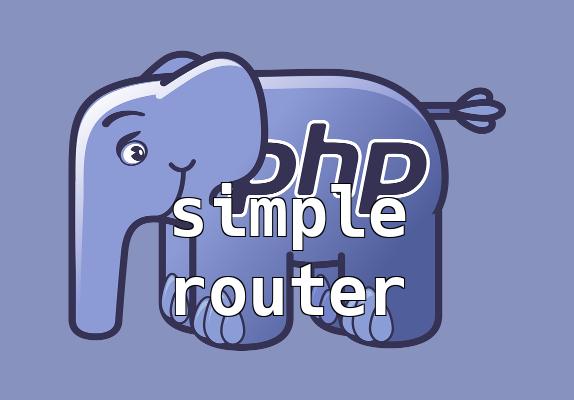 Egyszerű router