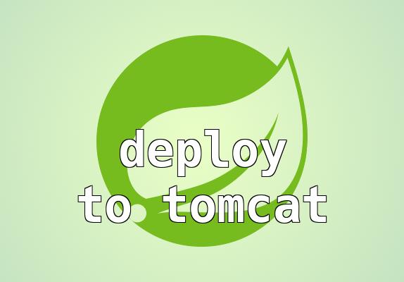 Tomcat deploy