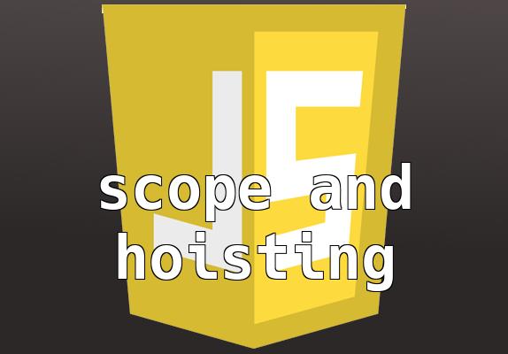 Scope és hoisting